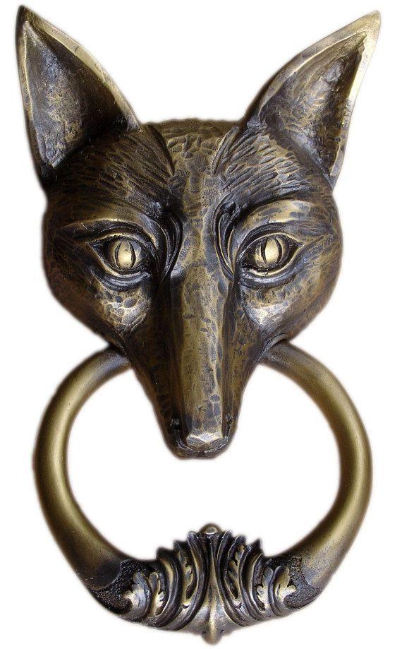 Fox Door Knocker by FabbriCreations on Etsy