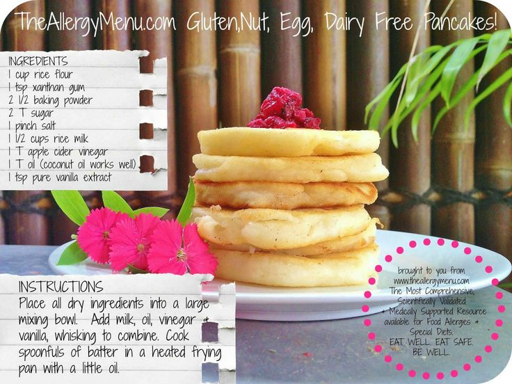 Here is Today's Pancake Recipe Card, on Day 2 of TheAllergyMenu.com 5 Days of Pancakes in the leadup to Shrove Tuesday!  Enjoy!  http://theallergymenu.com/blog/allergy-menu-egg-gluten-dairy-nut-free-pancakes