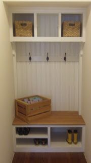 So, I finally finished the built-in mudroom storage/halltree that has been in my head for 2 yrs....      ...well it's 99.9% done. I still ha...