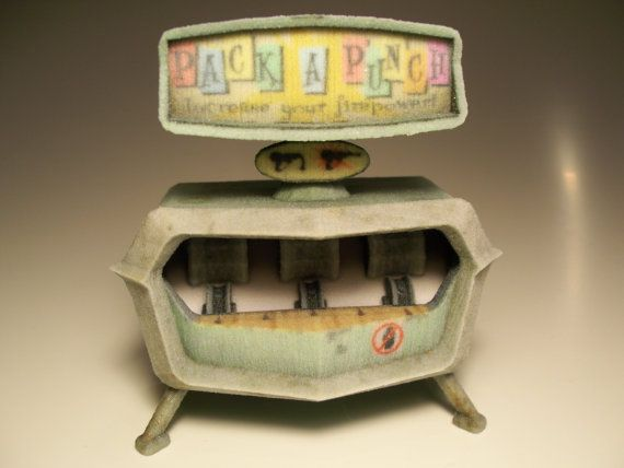 Pack-a-Punch - Nazi Zombies Miniature Perk Mahcines from Call of Duty on Etsy, $31.00
