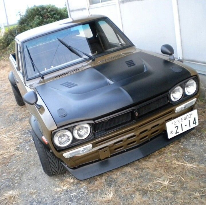 116 best images about Datsun 1200 (Sunny Truck) on ...