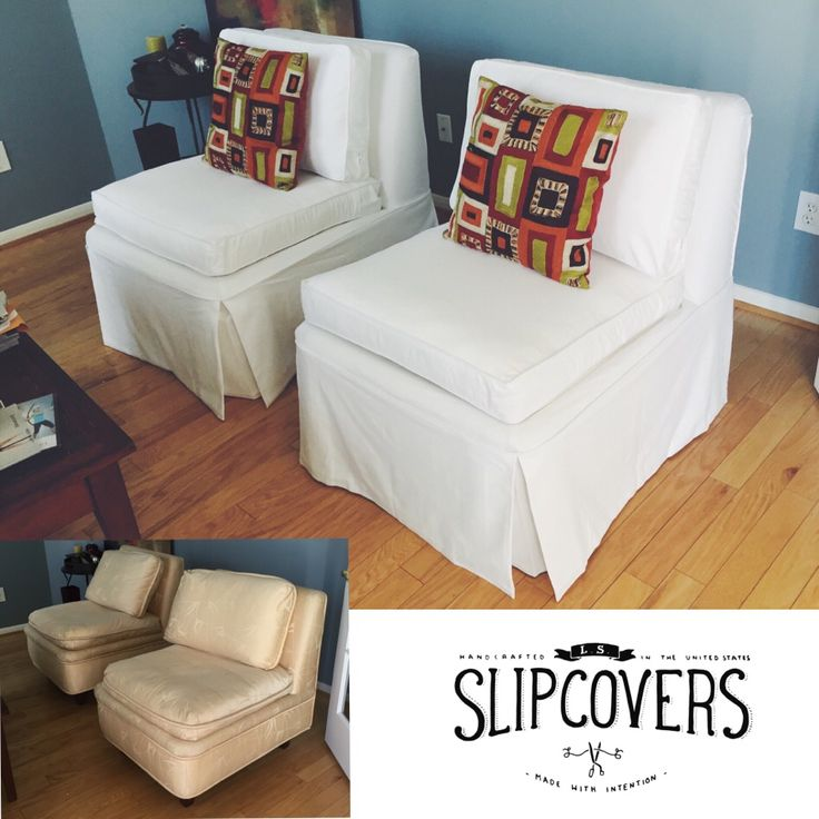 Chair Makeover, Slipper Chairs And French Vanilla On Pinterest