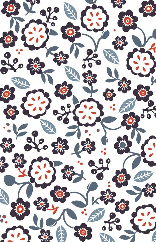 flowers pattern design inspiration for creatives