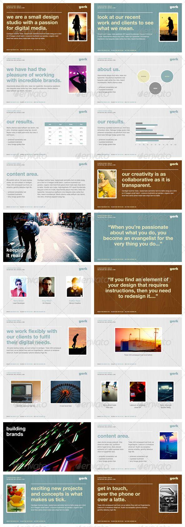 York - Powerpoint Presentation Template