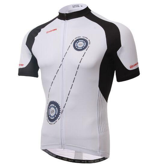 XINTOWN Men's Short Sleeve Spring/Summer/Fall Cycling Jersey [S-3XL] (17 Colors)
