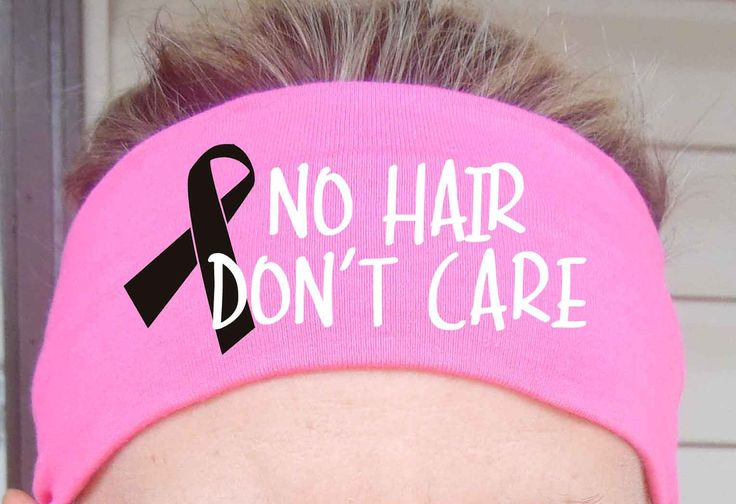 No Hair Don't Care - Breast Cancer - Fitness Headbands - Running - Hair Accessories - You choose color headband by shopbellawear on Etsy