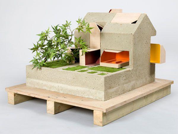 4 a dolls house famous architects design dollhouses, charity auction, wielcy architekci projektuja dla dzieci, domki dla lalek, aukcja charytatywna, mala architektura, coffey architects