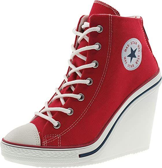 Wedge heel sneakers, Sneaker heels