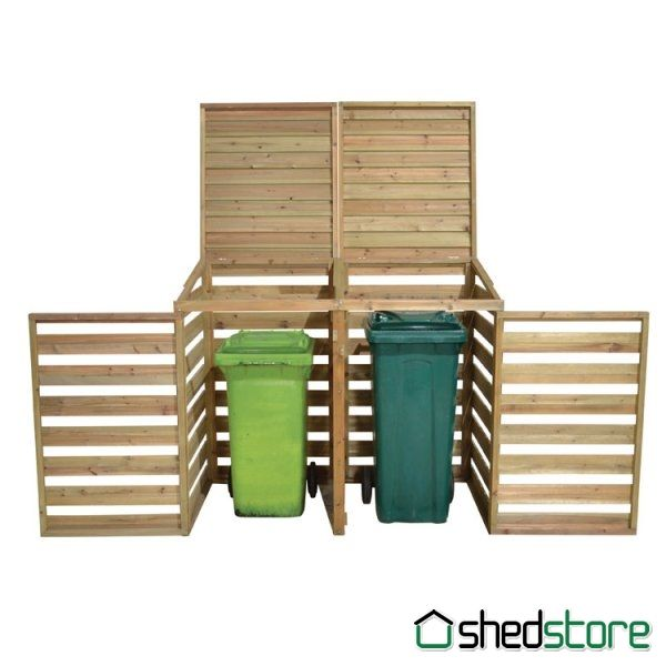 Store-Plus Wheelie Bin Store Garden Storage