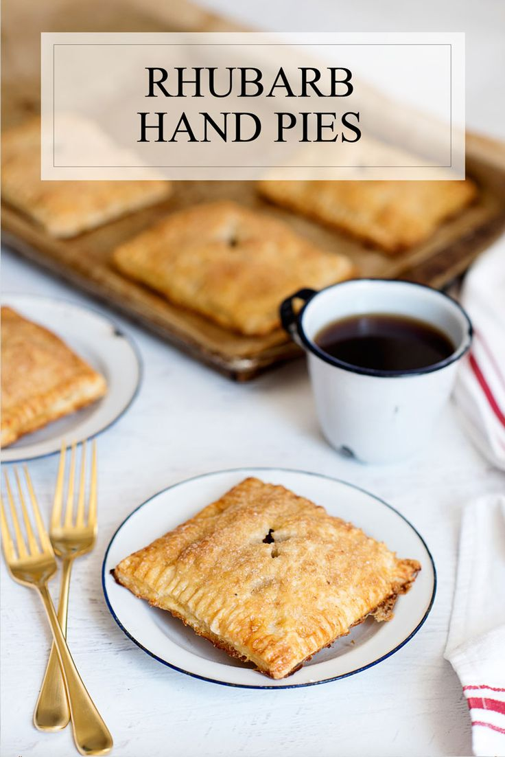 Perfectly Flaky Rhubarb Hand Pies Recipe