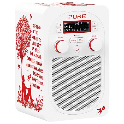 Buy Pure Evoke D2 by Rob Ryan Designer DAB/FM Bluetooth Digital Radio Online at johnlewis.com
