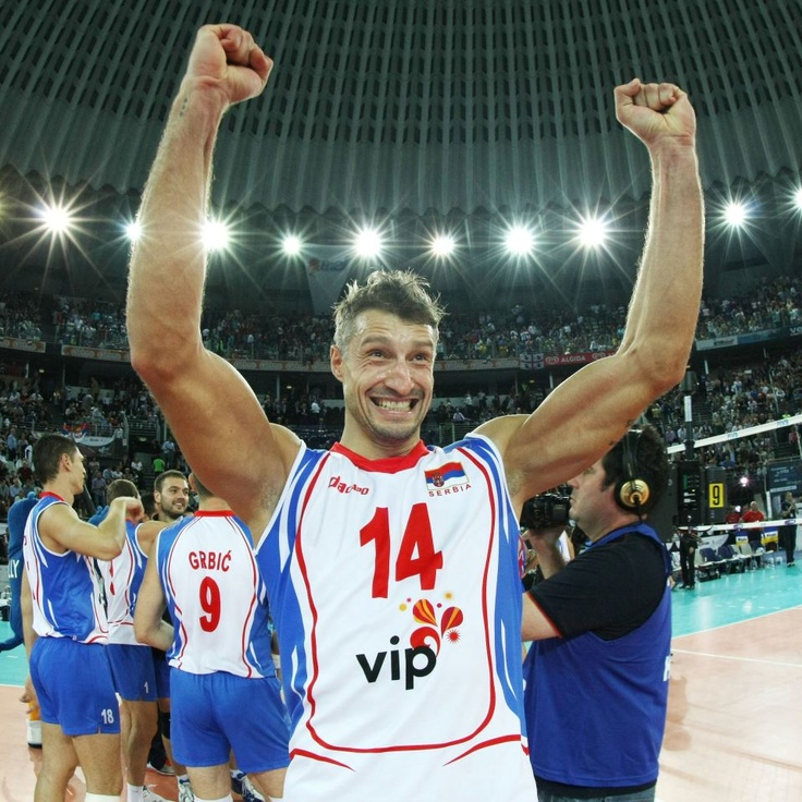 Ivan Miljkovic Serbian volleyball player