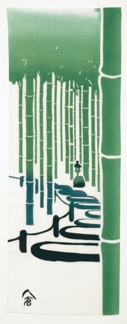 Takeniwa bamboo garden tenugui