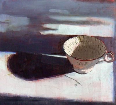 Cup With Orange Ground by Susan Ashworth