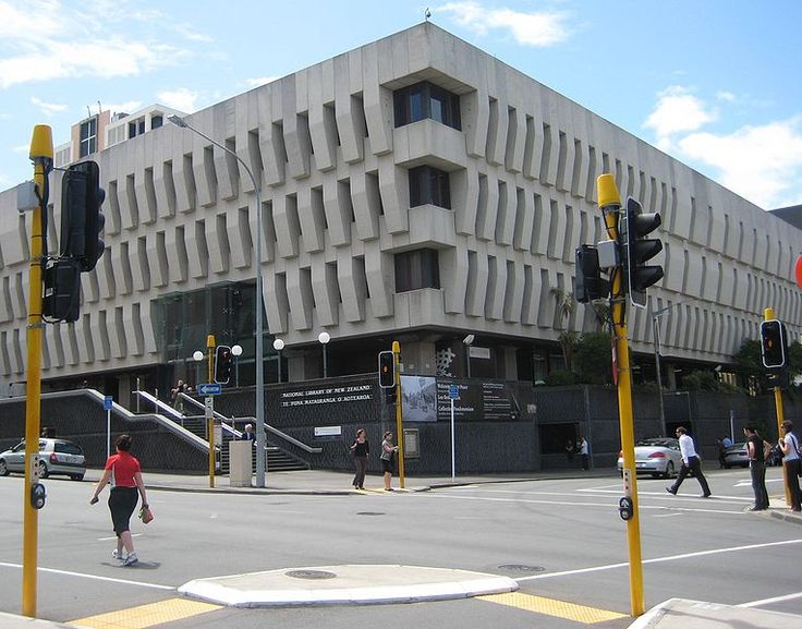 National Library of New Zealand http://natlib.govt.nz/ (Picture by Lanma726 CC-BY-SA-3.0 from Wikimedia Commons)