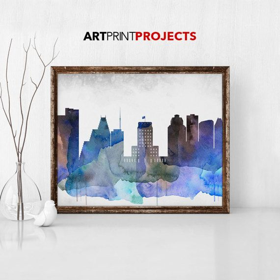 Check out this item in my Etsy shop https://www.etsy.com/listing/510346127/houston-texas-watercolor-print-city