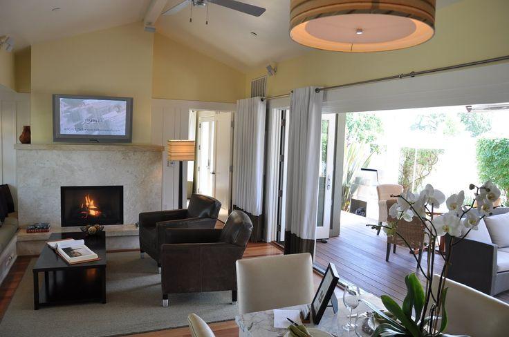 indoor outdoor living / The Carneros Inn, Napa