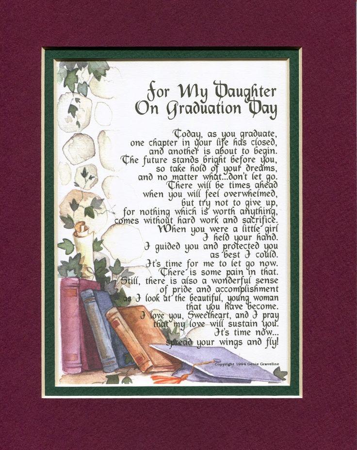 9 Best Grad Poems Images On Pinterest