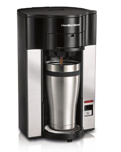 Hamilton Beach Stay or Go Personal Cup Pod Coffee Maker 49990Z - http://teacoffeestore.com/hamilton-beach-stay-or-go-personal-cup-pod-coffee-maker-49990z/