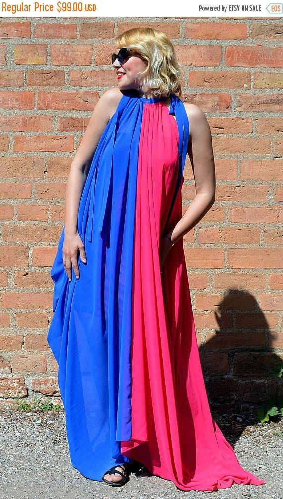 YELLOW SALE 15% OFF Royal Blue and Pink Summer Dress https://www.etsy.com/listing/523982803/yellow-sale-15-off-royal-blue-and-pink?utm_campaign=crowdfire&utm_content=crowdfire&utm_medium=social&utm_source=pinterest