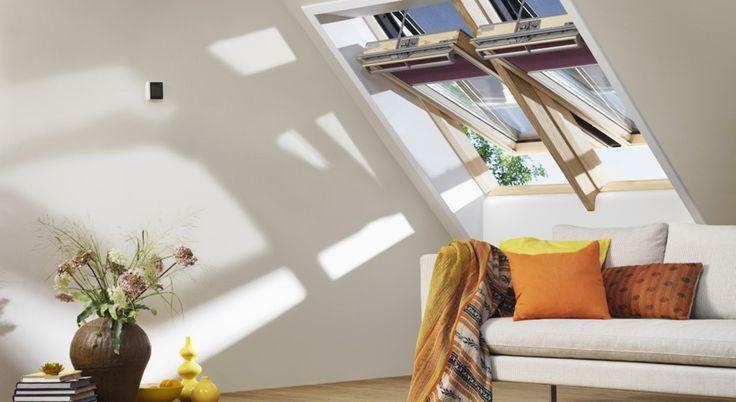 Ideas para la sala de estar – Vea cómo VELUX puede iluminar su sala de estar – Ideas para la sala de estar