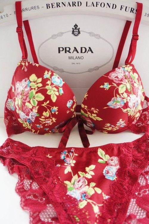 Female underwear bra set
