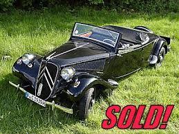 Image result for citroen traction avant cabriolet for sale