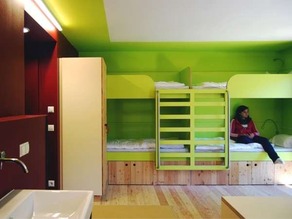 106 best youth hostel and college images on pinterest for Hostel design