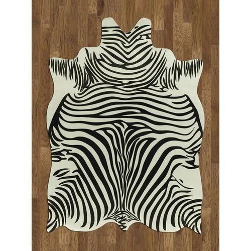 Acura Rugs Animal Hide White/Black Zebra Rug 5' x 7'   $103.99Black Novelty, Area Rugs, Hiding Rugs, Zebras Rugs, Zebras White, Whiteblack Zebras, Animal Hiding, Rugs Animal, Acura Rugs