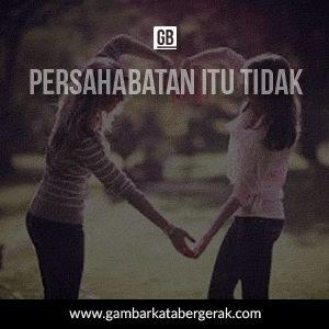 Gambar kata mutiara persahabatan bergerak, sahabat saling menerima dan mengerti
