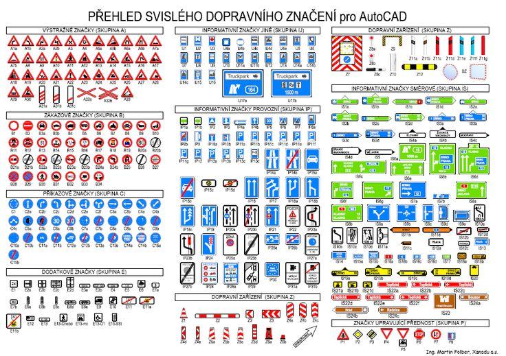 AutoCAD Civil 3D: Svislé dopravní značení - ochutnávka blog