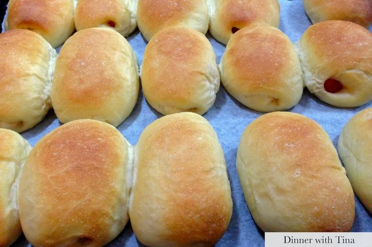 Chinese bakery styled hot dogs - thermomix and bread maker methods