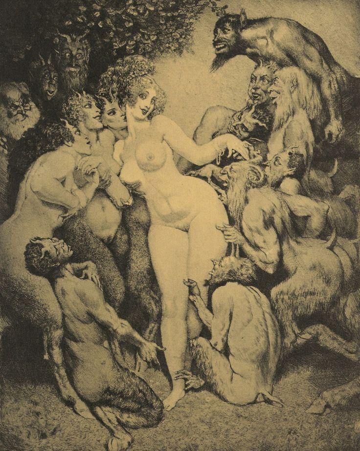 Venus in Arcady,1979.  Norman Lindsay