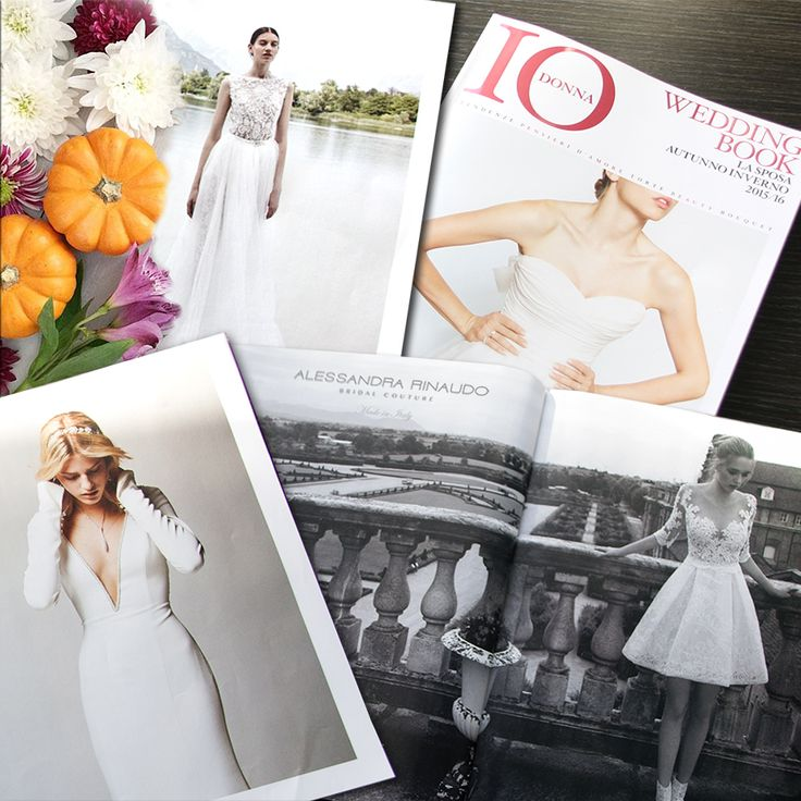 Le Collezioni Nicole Fashion Group e Alessandra Rinaudo illuminano il vostro autunno... Cercatele in edicola sull'ultimo numero di IO DONNA Wedding Book!