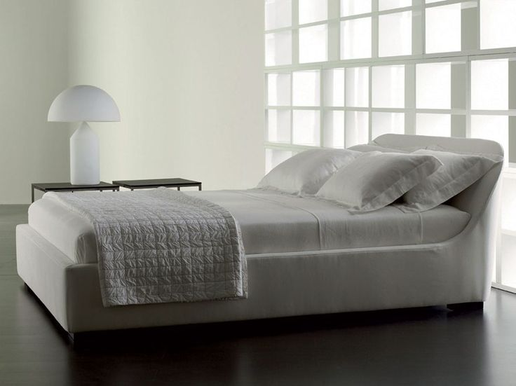 Doppelbett Mit Abnehmbarem Bezug TWIGY By Meridiani