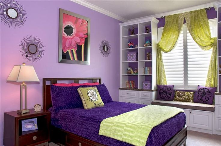 17 best images about purple bedroom on pinterest purple bedrooms sweet sixteen and purple - Special cool girls room ...