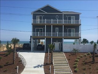 *BRAND+NEW+4+BR+Ocean/+Beach+Front+-+Private+Pool+-+Elevator+-+Handicap+Friendly+++Vacation Rental in Coastal North Carolina from @homeaway! #vacation #rental #travel #homeaway