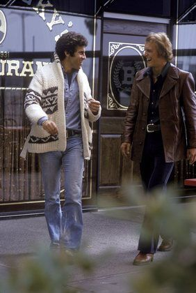 """Starsky and Hutch"" Paul Michael Glaser & David Soul"
