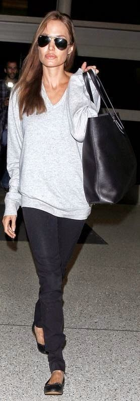 Chic and Silk: FACES: Angelina Jolie - Her Best Street Style!