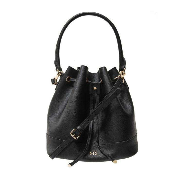 Black Bucket Bag   The Daily Edited