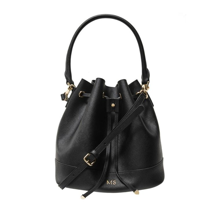 Black Bucket Bag | The Daily Edited