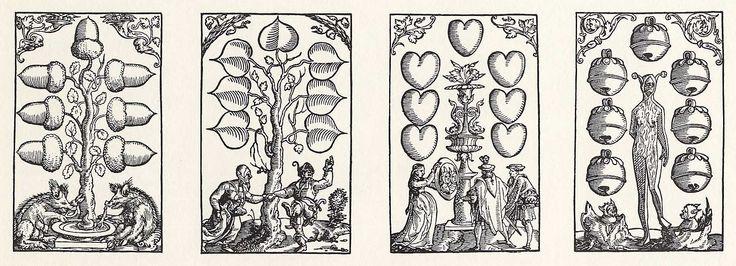 Artist: Flötner, Peter, Title: »Kartenspiel«, Siebener, Date: ca. 1535
