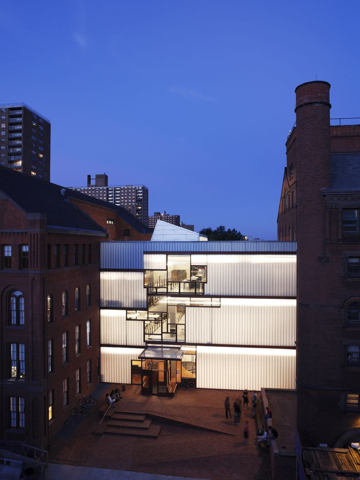 new queens library at hunters point / steven holl architects |Shared by Sparano + Mooney Architecture|