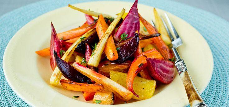 Bakte rotgrønnsaker |Godt og sunt| Oppskrift på Lises blogg