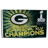 Buddy   Found it at Wayfair - Green Bay Packers Super Bowl XLV Traditional Flag