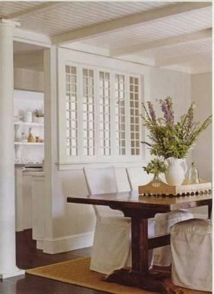 17 best images about kitchens on pinterest ceiling lamps - Open window between kitchen living room ...