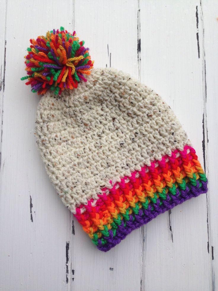 Rainbow Souch Beanie