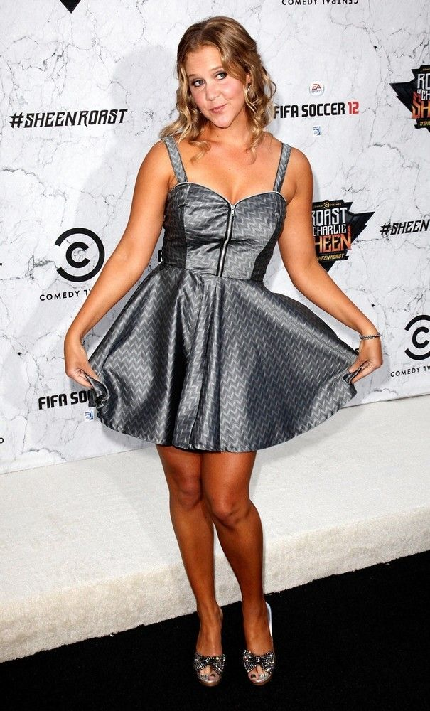 Amy Schumer of Comedy Central.  She's vulgar & hilarious!!
