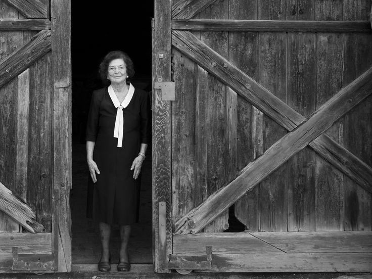 La moglie del fondatore: la Sig.ra Olga Di Muzio