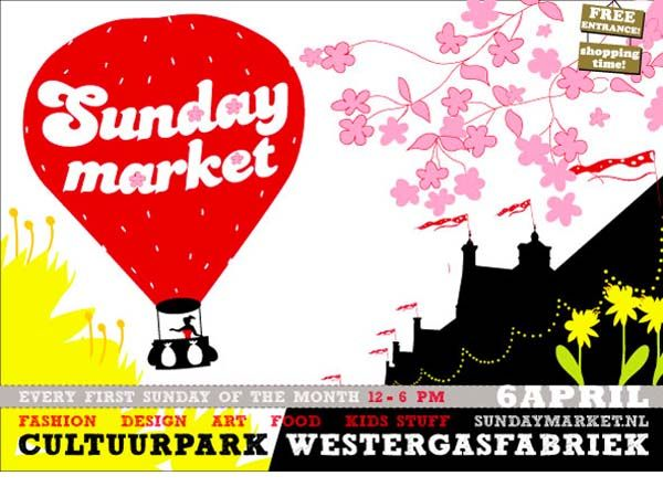 Sunday Market Amsterdam: food, drinks & shopping